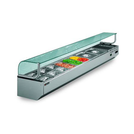 Vetrinette portabacinelle refrigerate - DISPLAY 01